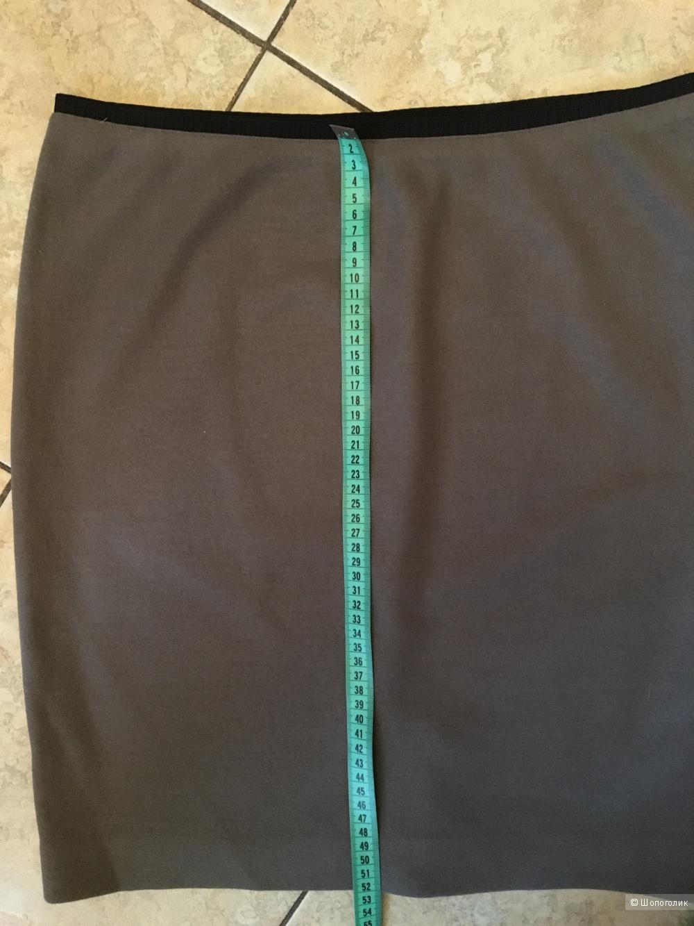 Юбка шерсть/кашемир MARCCAIN размер дизайнерский 5
