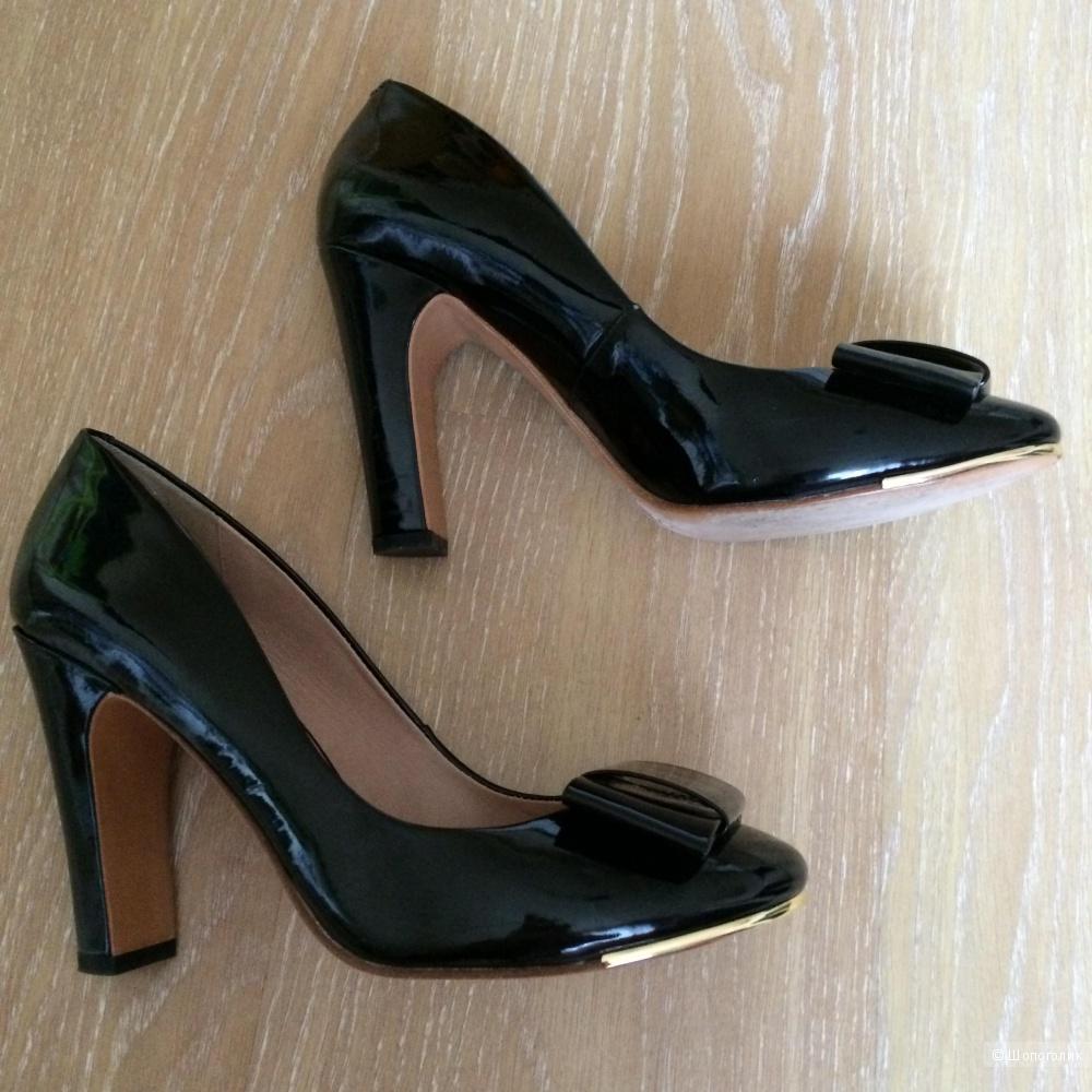 Лаковые туфли Massimo Dutti, р-р 40, 41