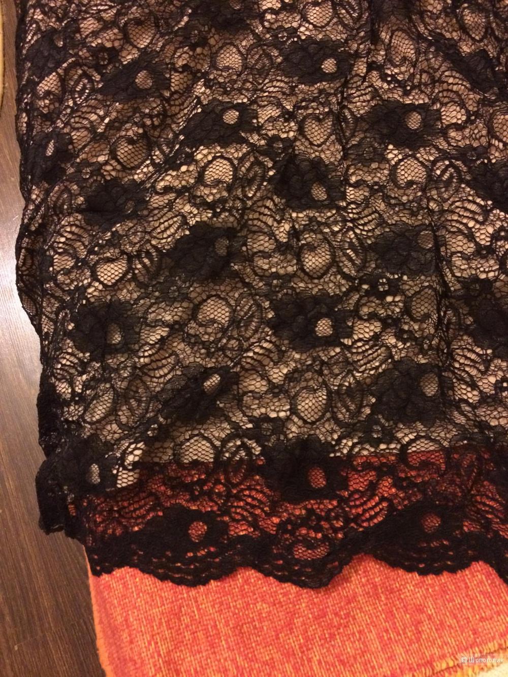 Кружевное платье в пол 42 р
