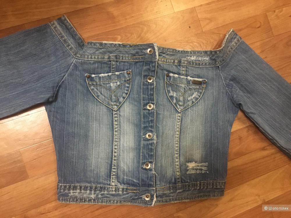 Джинсовая куртка P&Y DENIM, размер S/M