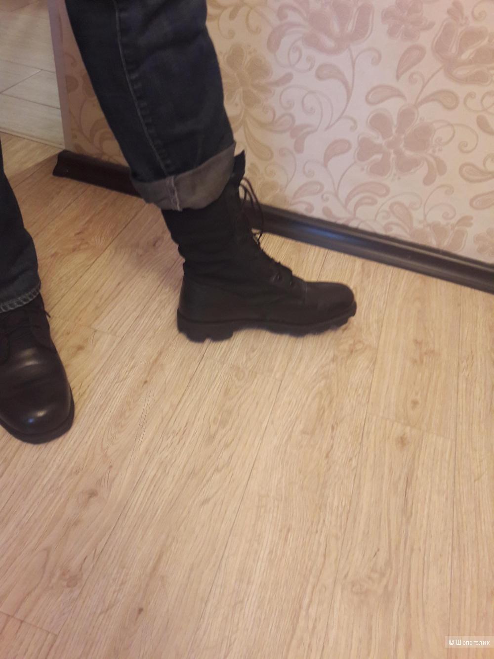 Ботинки высокие американские военные ноу нейм, 43