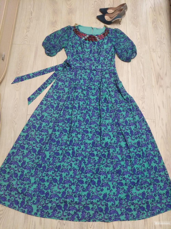 Платье нарядное миди р 46-48. Турция. La Fama