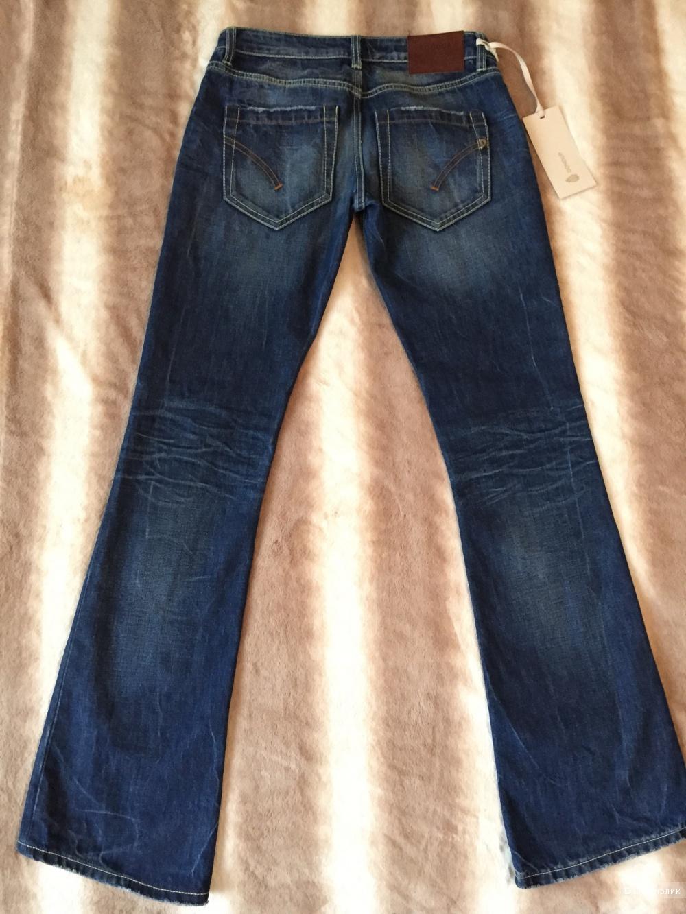 Джинсы-клеш DonDup, размер 28, синего цвета
