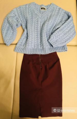 Классическая юбка-карандаш Zara, рр 42