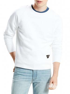 Мужская толстовка Levi's, размер М. Белая.