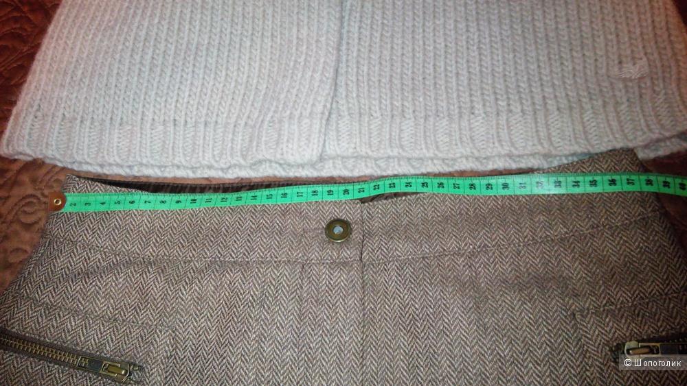 Сет из двух вещей, кардиган-жилет и юбка, размер S