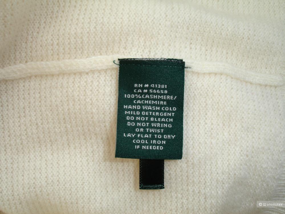 Кашемировый свитер Ralph Lauren, размер L-XL