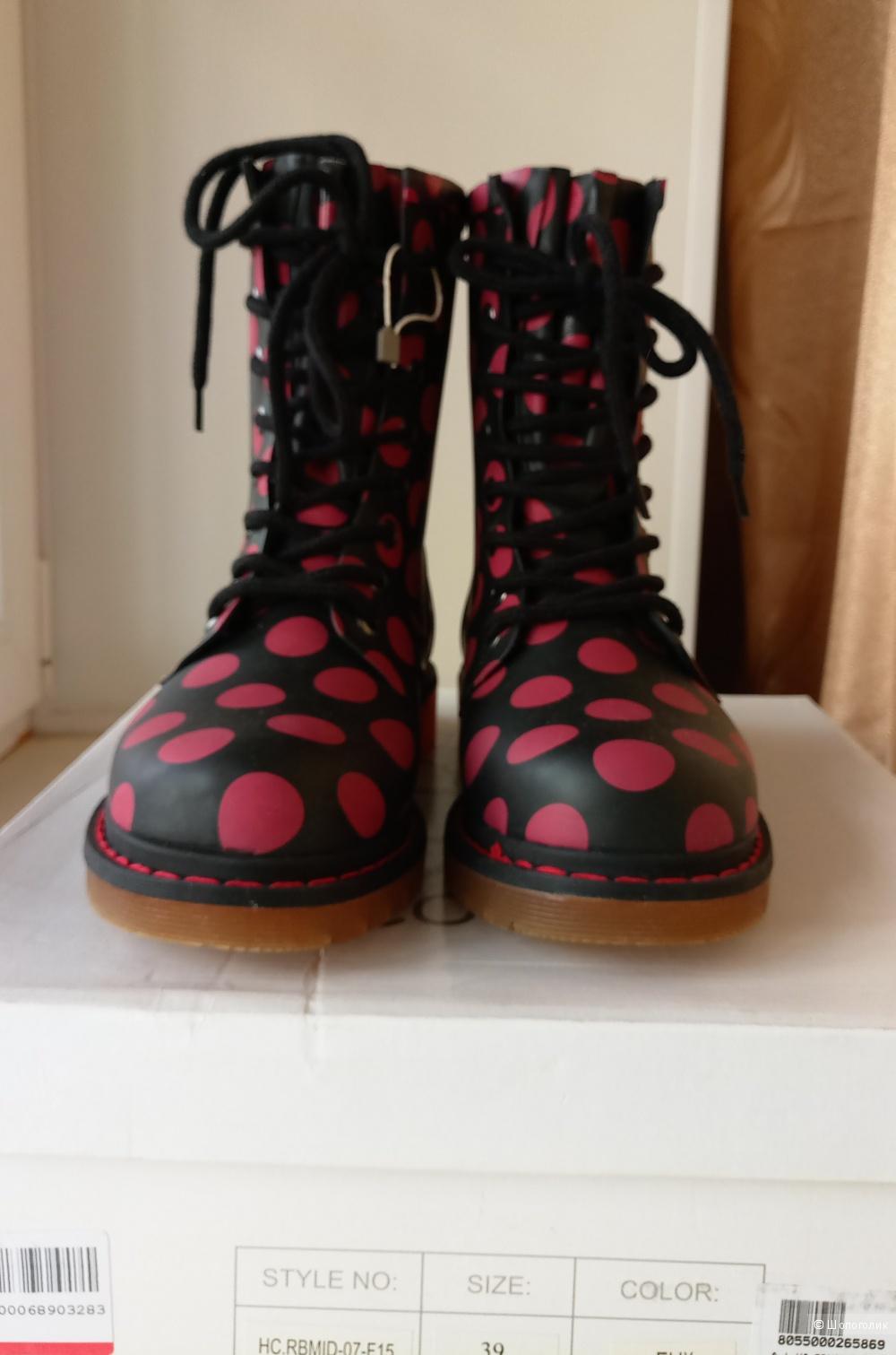 Ботинки резиновые Colors of California  размер 38-39