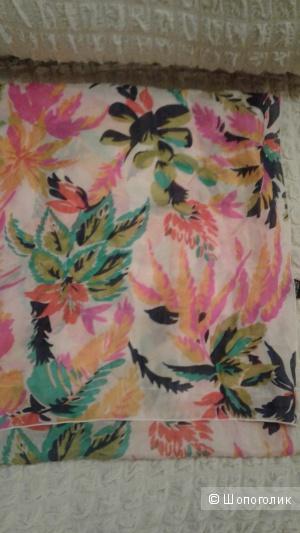 Шелковый шарф, 150 на  40 см. Франция