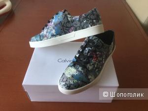 Новые кожаные кеды Calvin Klein Imilia р 38