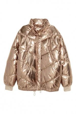 Новая куртка HM 42-44р  золотая