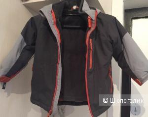 Куртка 3в1 на 3года Б/У