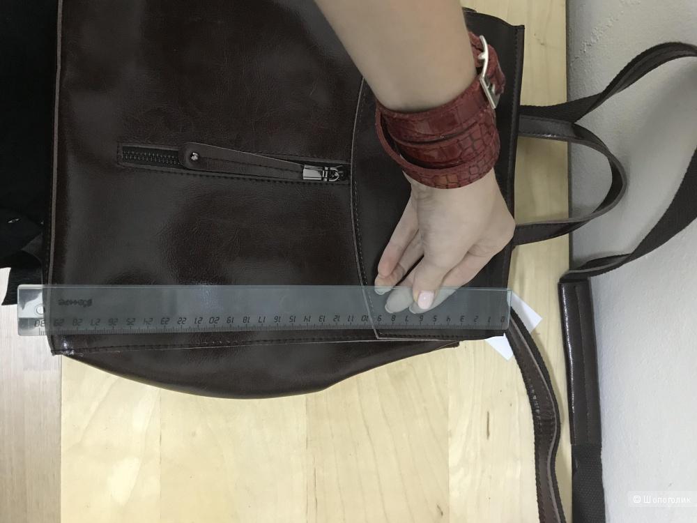 Кожаная сумка-рюкзак, Vita