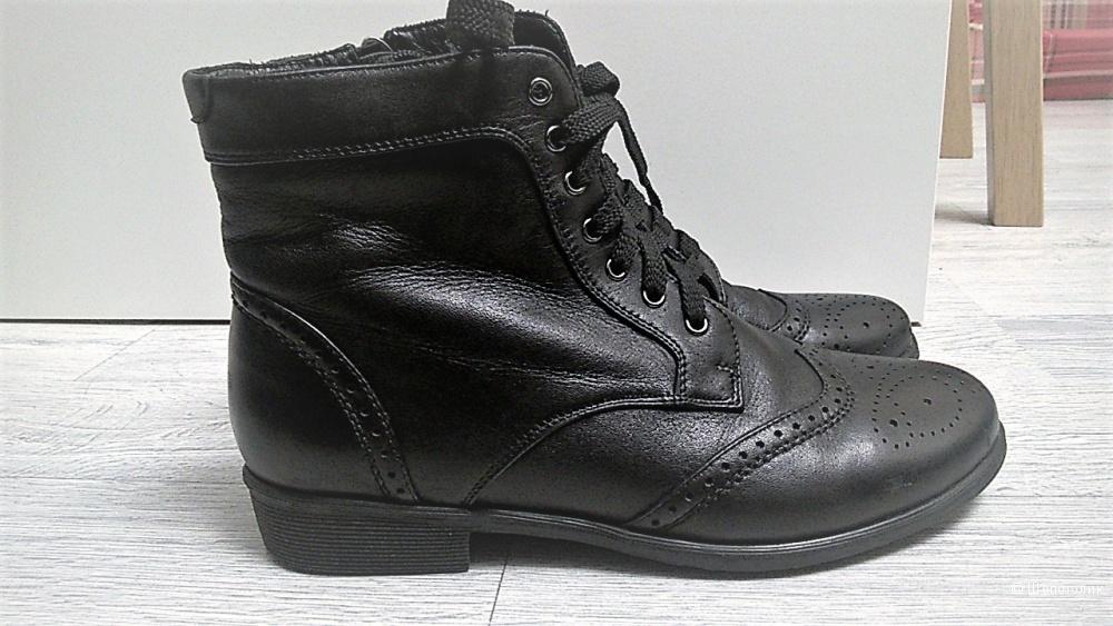 Ботинки в стиле челси со шнуровкой Respect, 38 размер