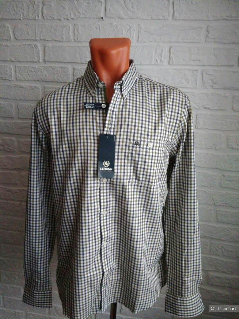 Мужская рубашка бренда LERROS, размер М