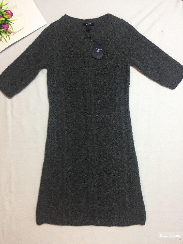 Шерстяное платье Gant XS