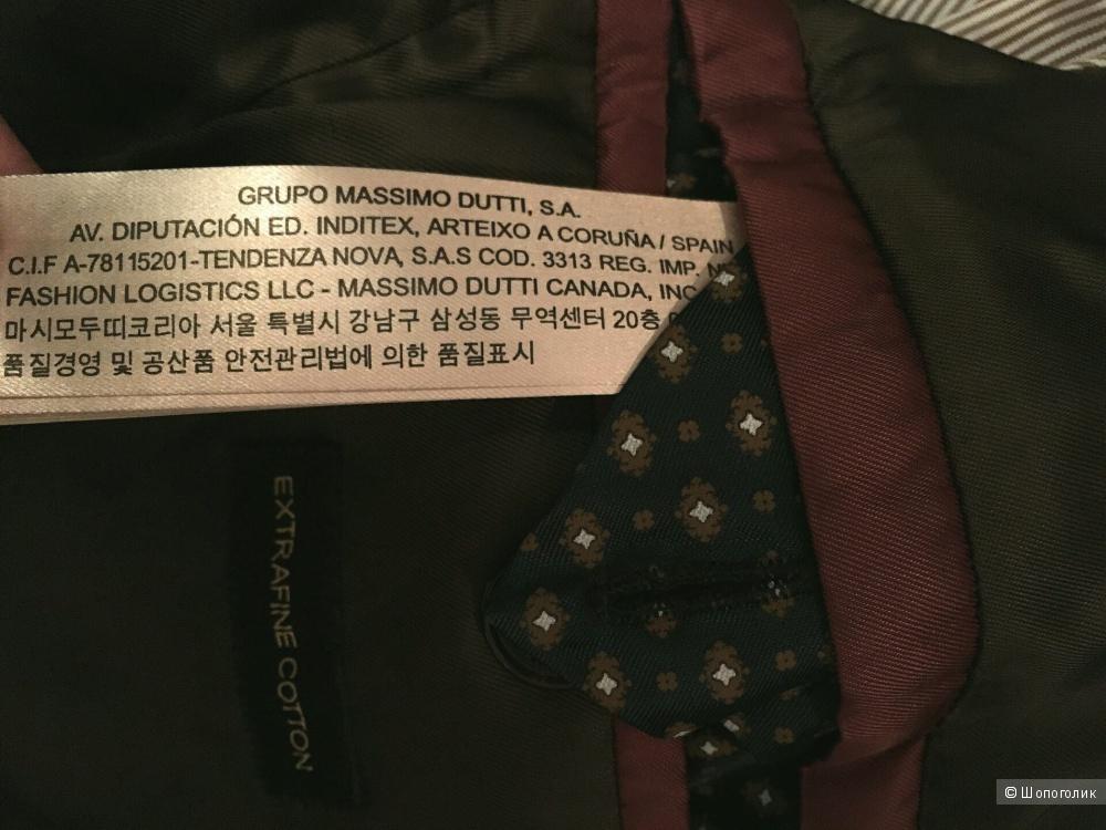 Мужское пальто Massimo Dutti р.52/56