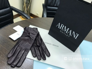 Женские перчатки Armani Collezioni, размер M