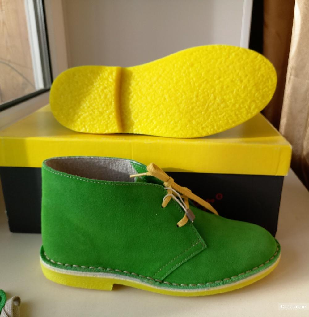 Ботинки замшевые Wally Walker размер 38