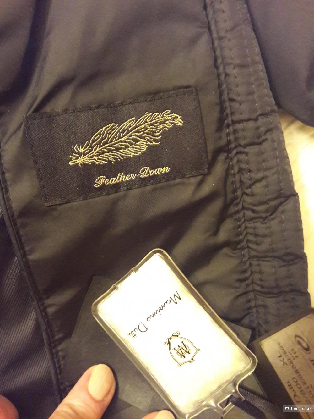 Massimo Dutti: удлиненная женская куртка-пуховик, Xl