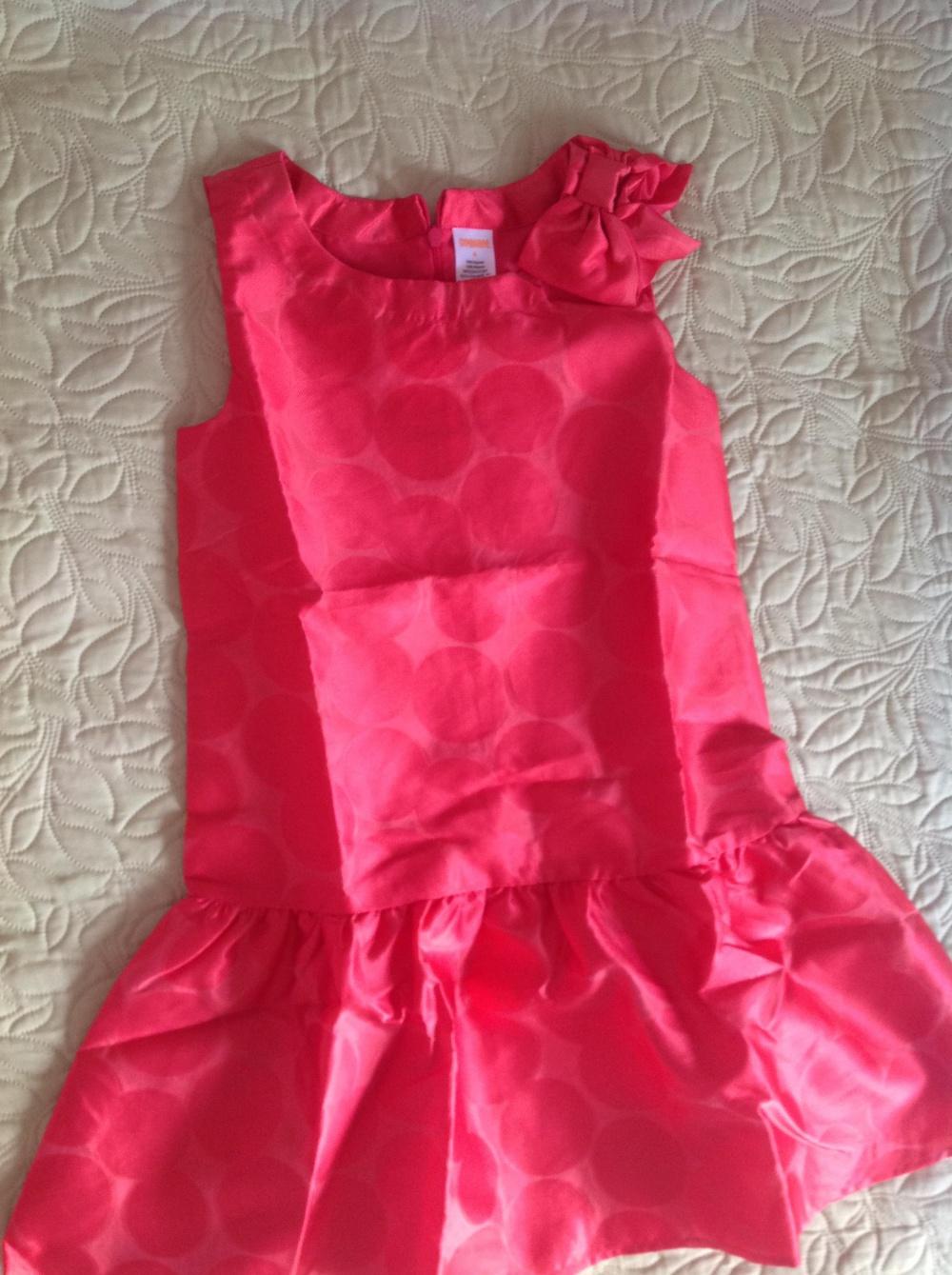 Яркое платье Gymboree, р.8