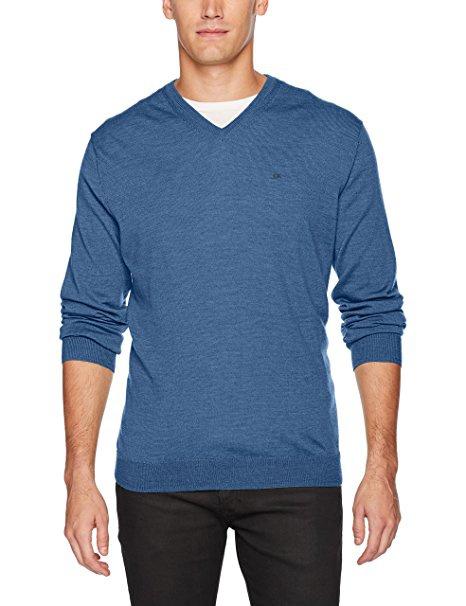 Мужской свитер Calvin Klein, размер XL, 100% шерсть merino
