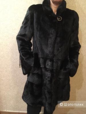 Женская норковая шуба WINTER LOVER размер М-42/44