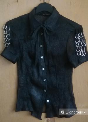 """Рубашка блуза """" Primo Emporio""""  Италия р. ХS( на 42)"""
