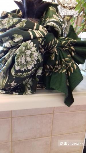 Большой платок из шерсти и шёлка, 107*107, Испания