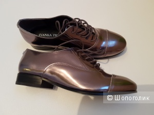 Кожаные туфли Ivanka Trump. Размер 5,5 us (35-35,5)