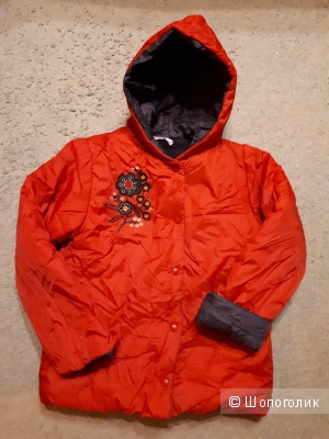 Теплая куртка для девочки на рост 146см. Mariqwita