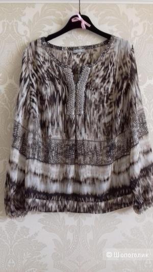 Шёлковая блуза RABE 1920, размер 42-44