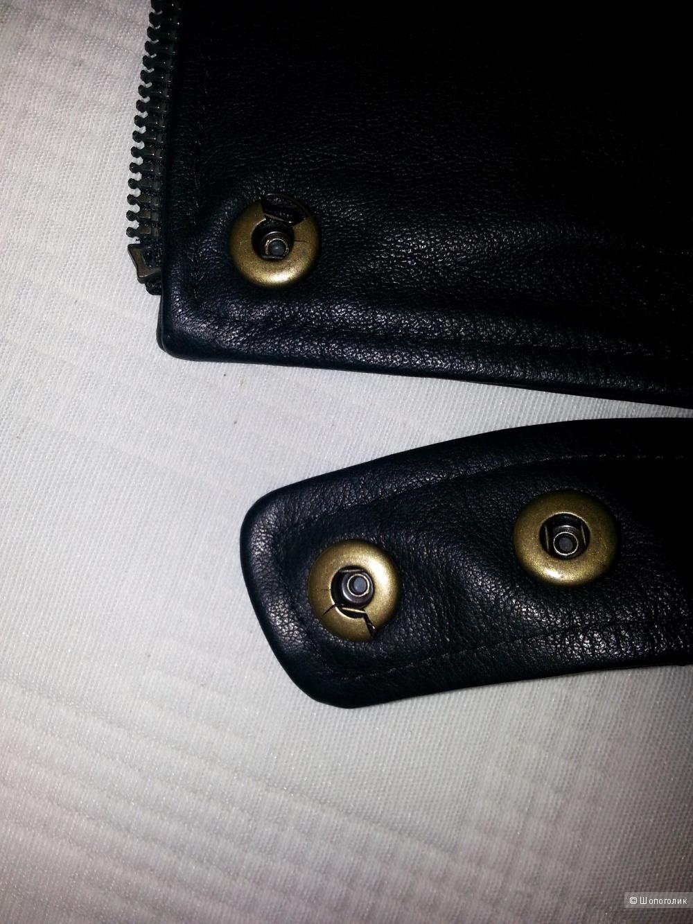 Кожаная укороченная куртка ALEXANDER WANG 40IT, 4US