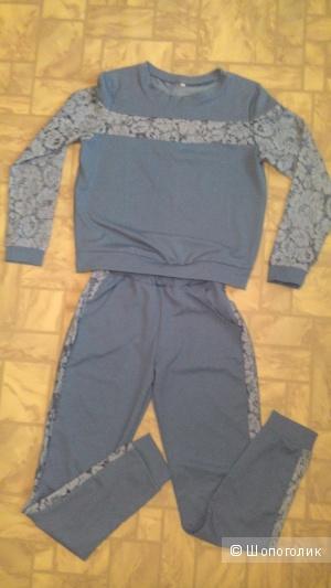 Новый трикотажный костюм, ФМ, р. 44