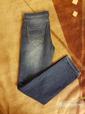 Новые джинсы на флисовом подкладе, р. 33/34