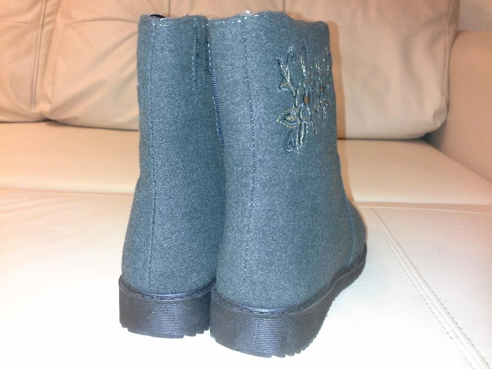 Ботинки, зима, размер 37-38