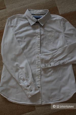 Белая рубашка tommy hilfiger L (48-50)