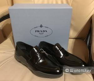 Мокасины Prada, размер 38.5
