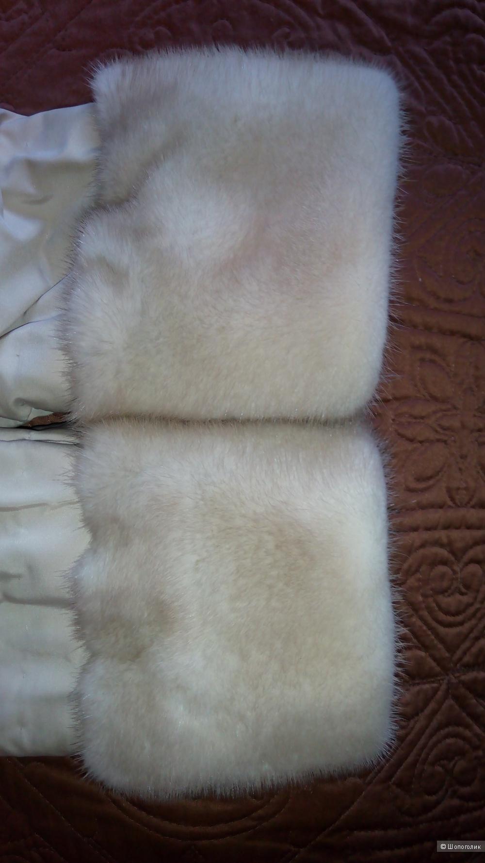 Полушубок- куртка из норки, Juanno fur, размер S