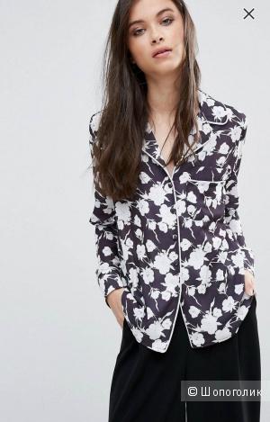 Блуза в пижамном стиле, Alter Petite, размер XS (40-42 рос)