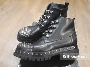 Ботинки Fabrizio Chini, 39 размер, кожа