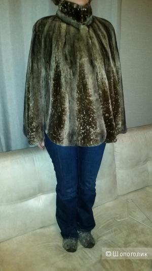 Пончо норковое,  Alberto fur, 42-48 размер