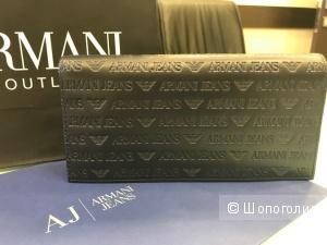 Мужской кошелек Armani Jeans, размер: 19 см х 9 см