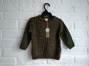 Детский свитер бренда River Island, размер 9-12 мес