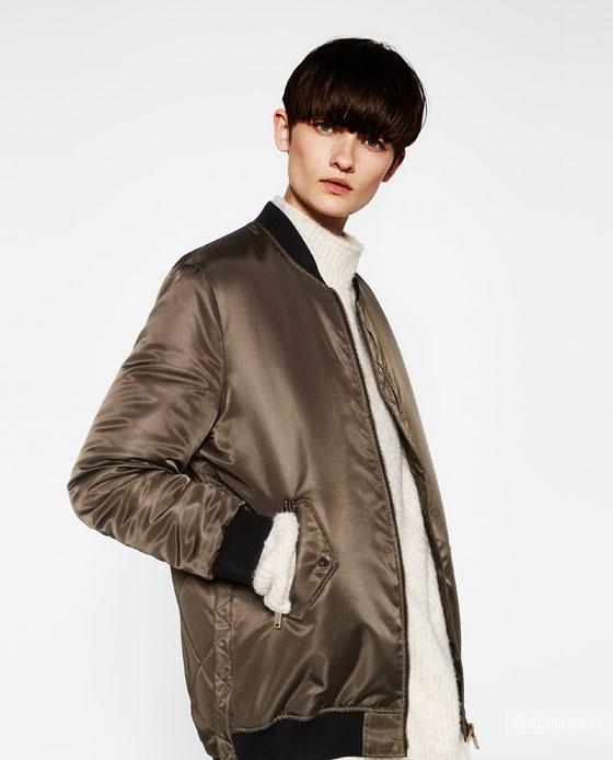 ZARA куртка бомбер S - M