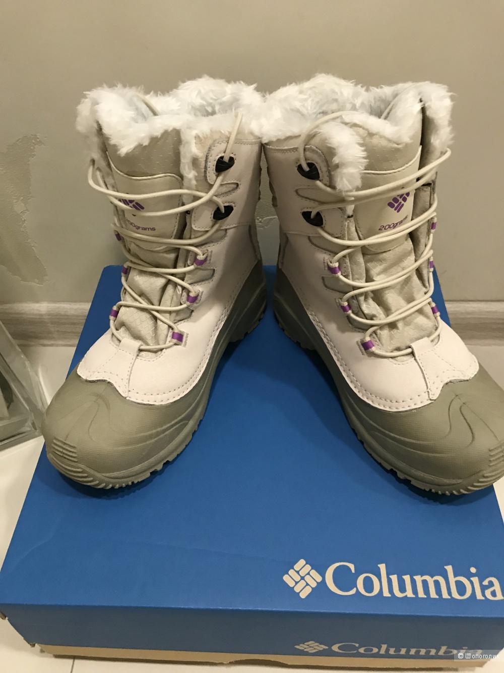Зимние сапоги Columbia Bugaboot, размер 37