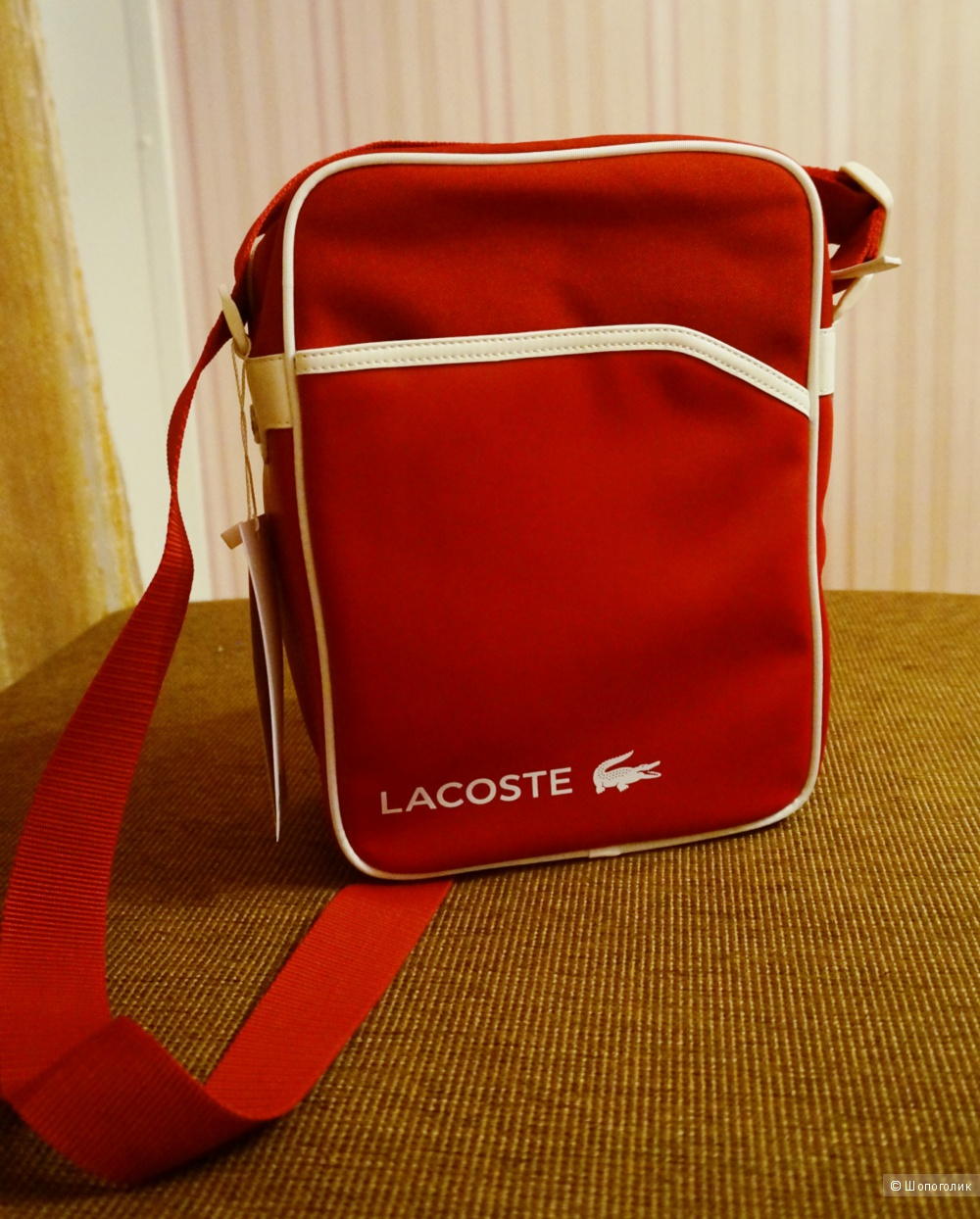 Мужская спортивная сумка Lacoste