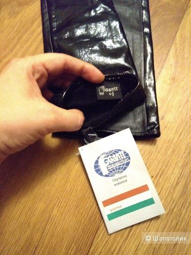 Кожаные перчатки Gantt, 6.5 размер