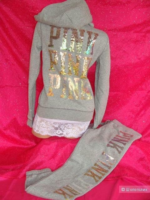 Теплый  костюм  victoria's secret (серия PINK) ,размер s