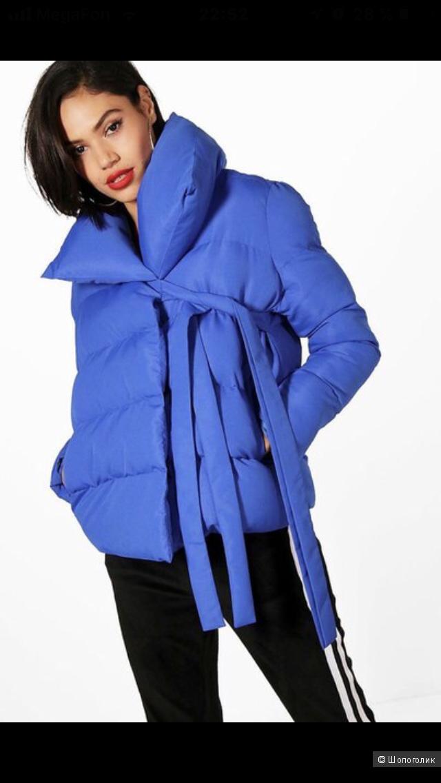 Дутая куртка Boohoo размер 8uk-36eur
